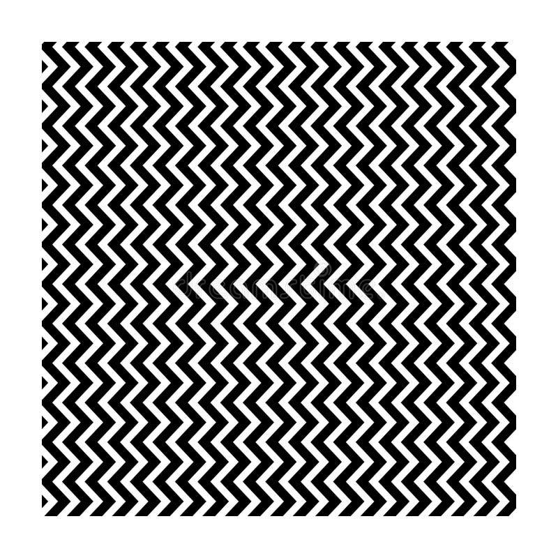 abstrakt linje sicksack modern design-01 stock illustrationer