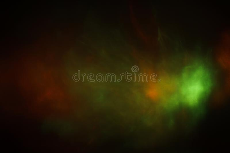 Abstrakt linssignalljusbakgrund med suddig bokeh royaltyfri fotografi