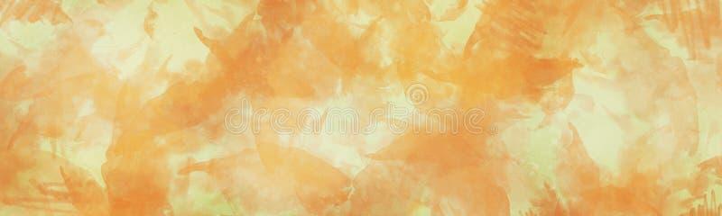Abstrakt ljus banerbakgrund med konstnärlig målarfärgdesign arkivfoto