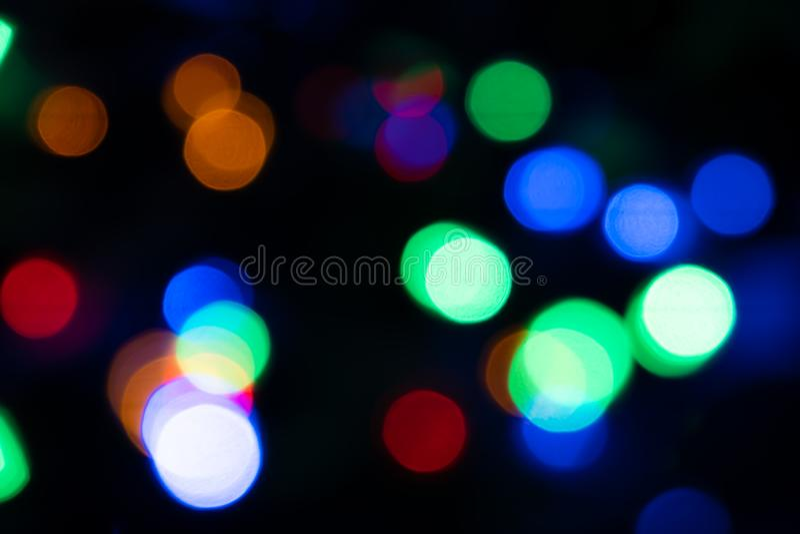 Abstrakt ljus Bokeh härlig bakgrund fotografering för bildbyråer