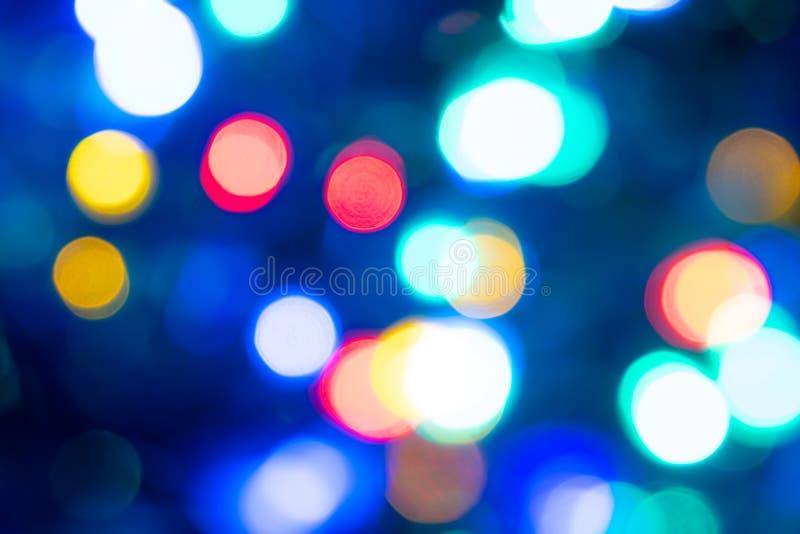 Abstrakt ljus Bokeh härlig bakgrund royaltyfria foton