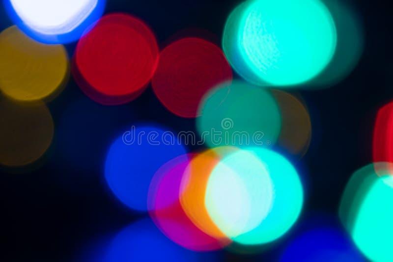 Abstrakt ljus Bokeh härlig bakgrund arkivbild