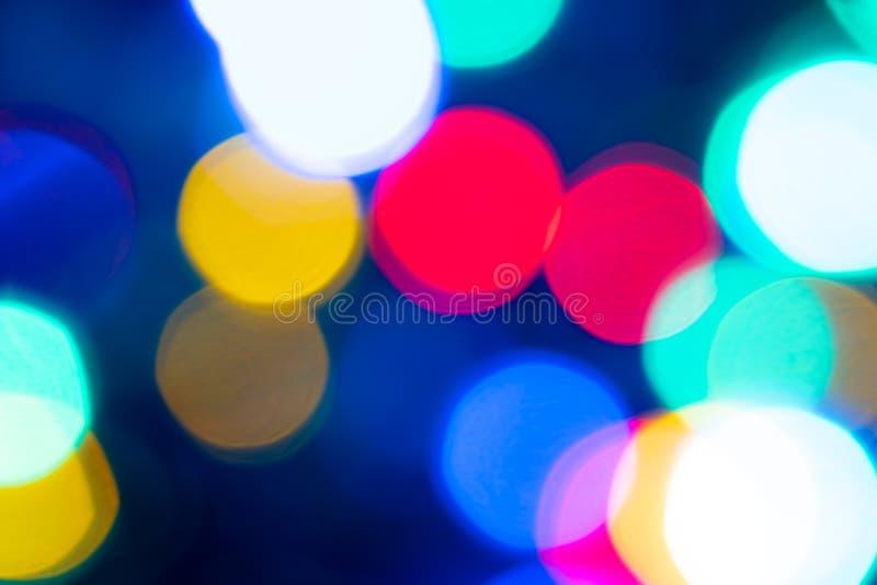 Abstrakt ljus Bokeh härlig bakgrund arkivfoton