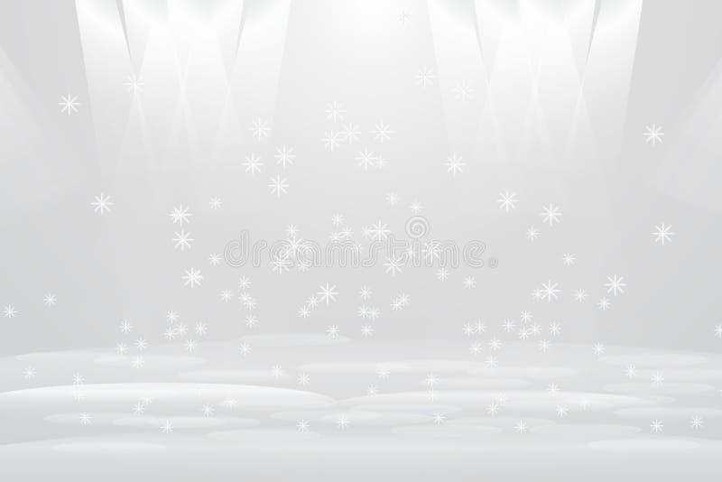 Abstrakt ljus och ljusa stjärnasken royaltyfri illustrationer