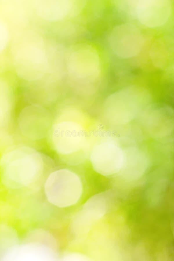 Abstrakt ljus suddig guling- och gräsplanbakgrund royaltyfria foton