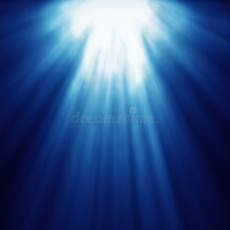 Abstrakt ljus zoom för gudaccelerationshastighet royaltyfri illustrationer
