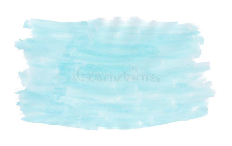 Abstrakt målarfärg för hand för färgstänk för vattenfärg för aquarel för gräsplan för turkos för bakgrund för färgpulvertexturbor royaltyfria foton