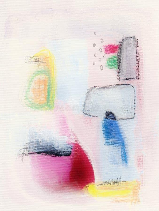 abstrakt målning royaltyfri bild