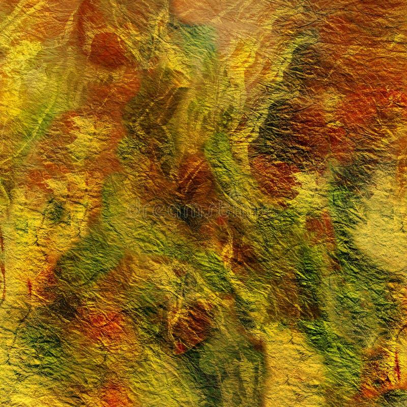 Abstrakt målningbakgrund, textur, modeller stock illustrationer