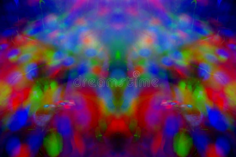 Abstrakt mångfärgad bakgrund, textur som är symmetrisk arkivbilder