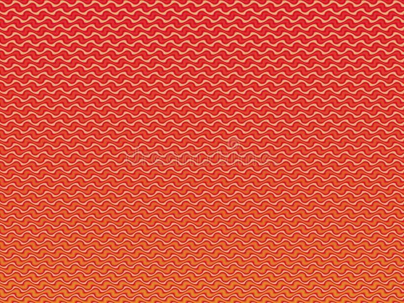 Abstrakt mångfärgad illustration brännheta waves Lutningmodell textur för mosaik för detalj för arkitekturkonstbakgrund stock illustrationer
