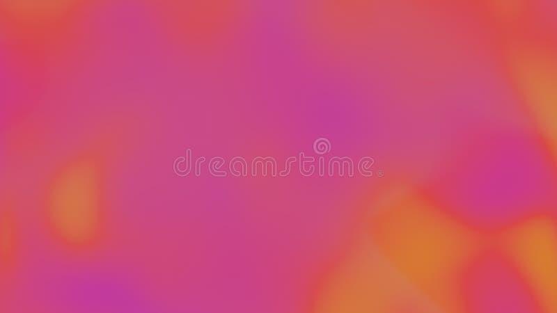 Abstrakt mångfärgad rörelselutningbakgrund abstrakt mosaik för bakgrundsdesignillustration 3d framför stock illustrationer