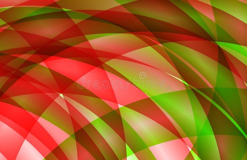 Abstrakt mångfärgad skuggad krabb bakgrund med bubblor, tapet, illustration royaltyfri illustrationer