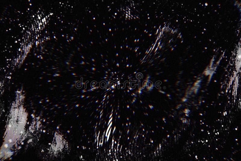 Abstrakt mörk bakgrund med tekniskt feleffekt för bakgrund royaltyfri foto