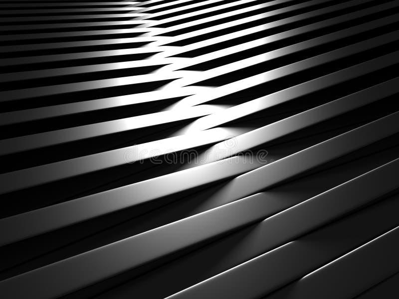 Abstrakt mörk metallisk skinande bakgrund för aluminium vektor illustrationer