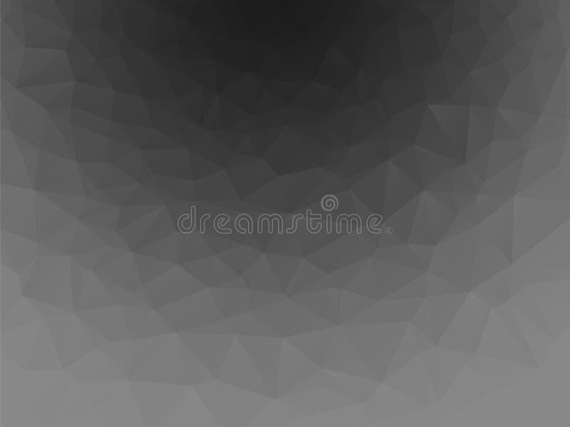 Abstrakt mörker - grå bakgrund stock illustrationer