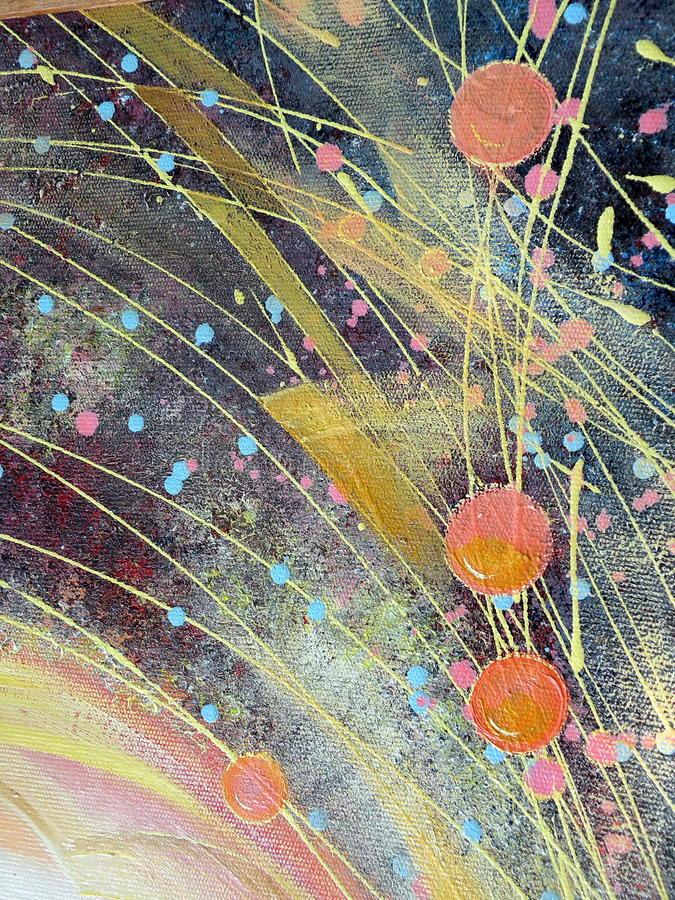 abstrakt malująca ściana obraz stock