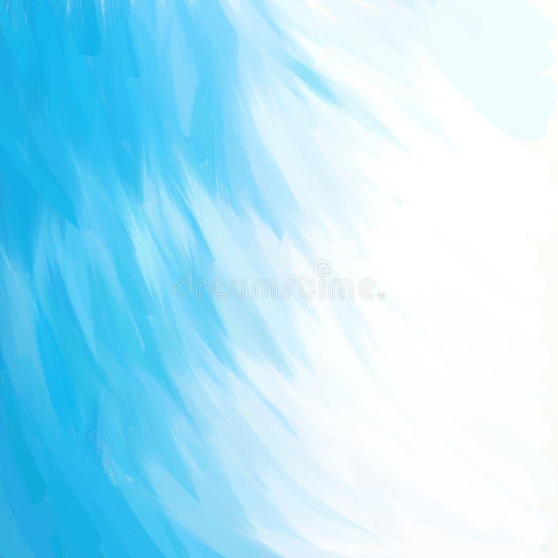 Abstrakt malujący tło ilustracja wektor