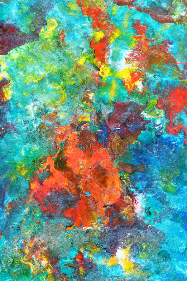 Abstrakt malujący tło zdjęcia stock