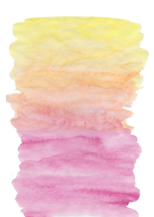 Abstrakt maluj?cy akwareli t?o na papierowej teksturze ilustracji