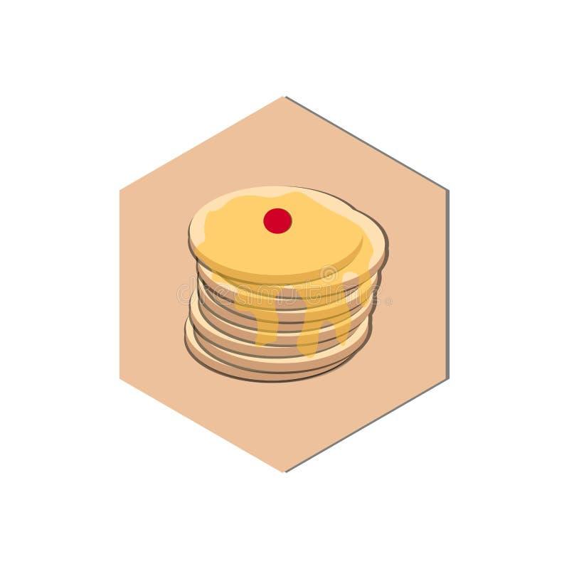 Download Abstrakt matsymbol vektor illustrationer. Illustration av design - 106833313