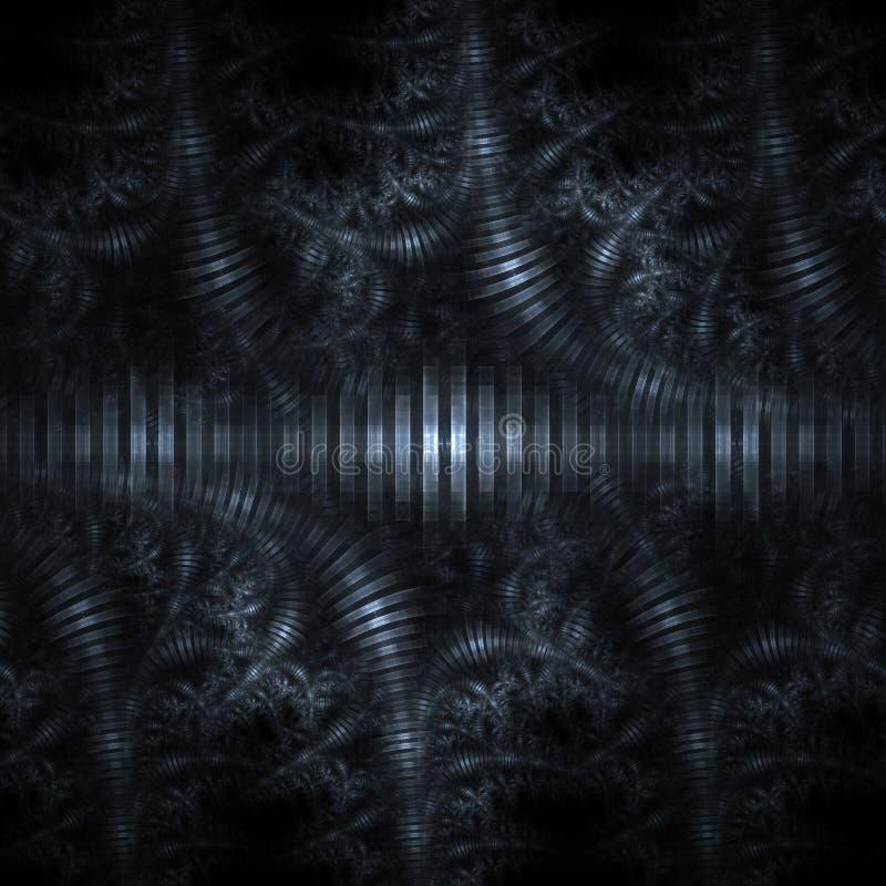 abstrakt metall vektor illustrationer