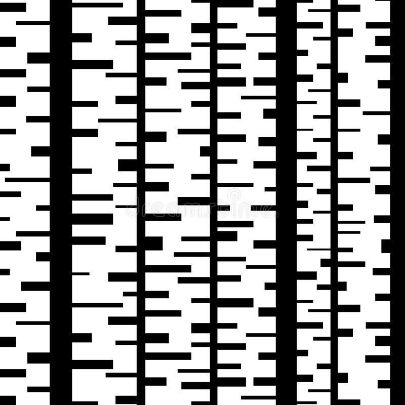 Abstrakt minsta formbakgrund med rektanglar stock illustrationer