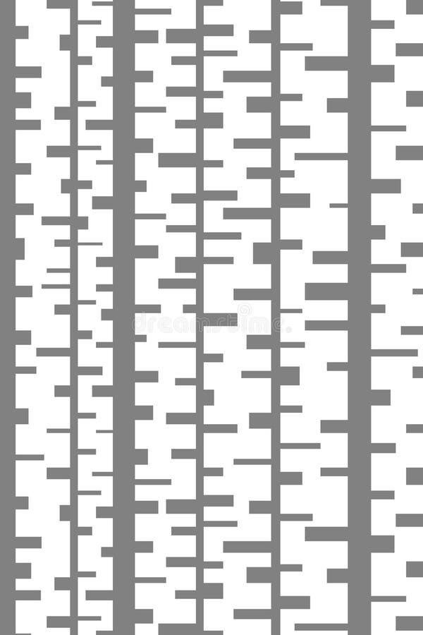Abstrakt minsta formbakgrund med rektanglar vektor illustrationer