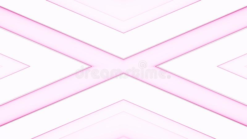 Abstrakt mjuk kulör bandbakgrund vektor illustrationer