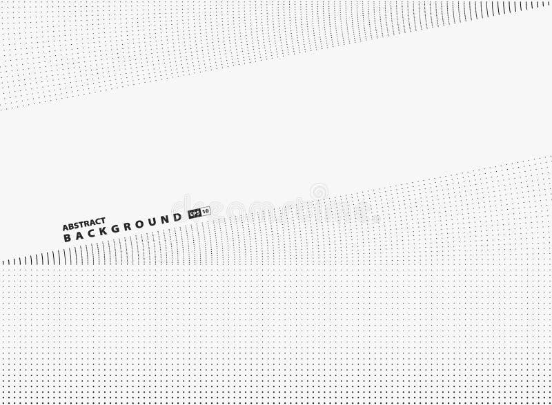 Abstrakt mocern bakgrund för tech för räkning för garnering för design för prickmodell Illustrationvektor eps10 royaltyfri illustrationer