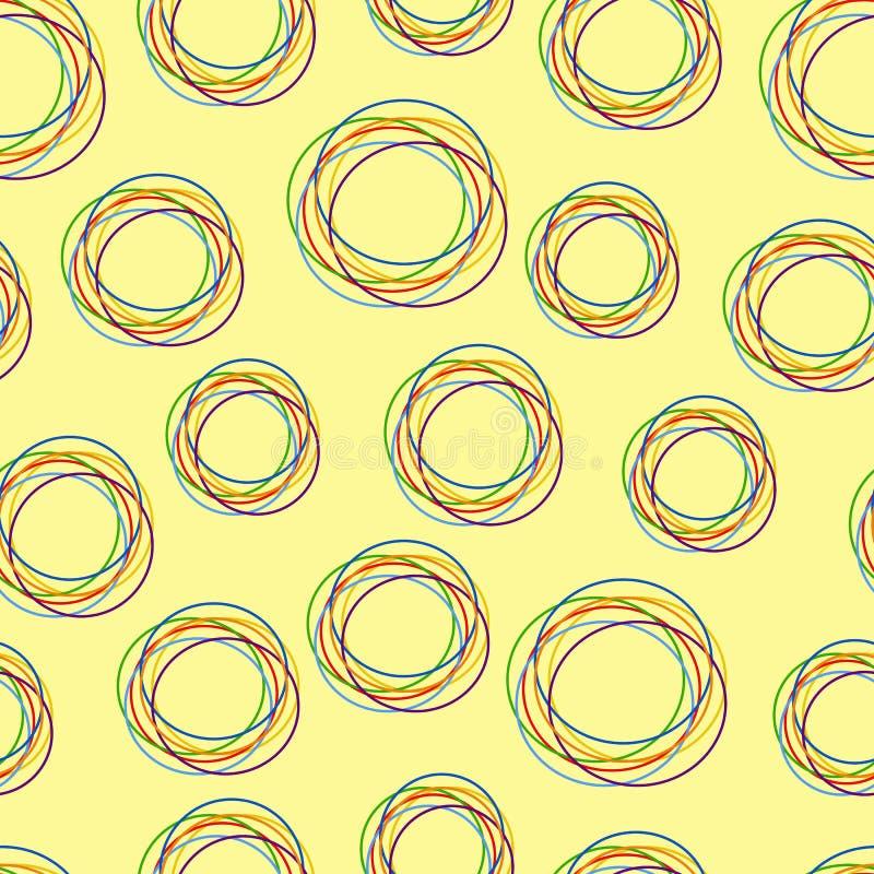 abstrakt modell stock illustrationer