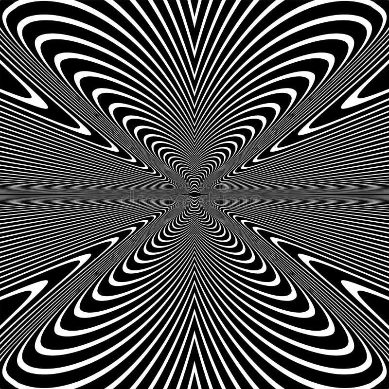 Abstrakt modell f?r op konst linjer textur royaltyfria bilder