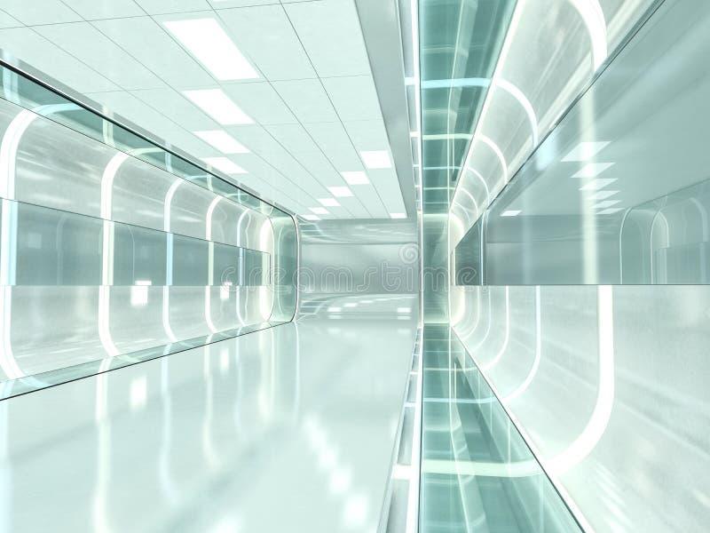 Abstrakt modern arkitekturbakgrund framförande 3d fotografering för bildbyråer