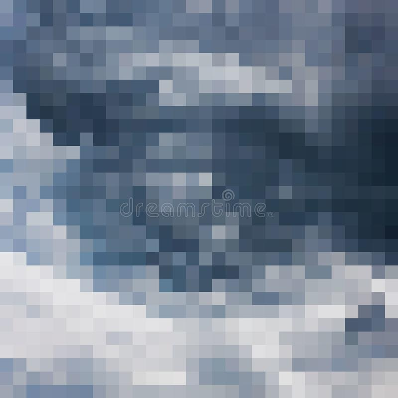 abstrakt mosaikPIXELfyrkant arkivbilder