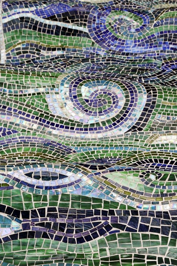 abstrakt mosaikvatten fotografering för bildbyråer