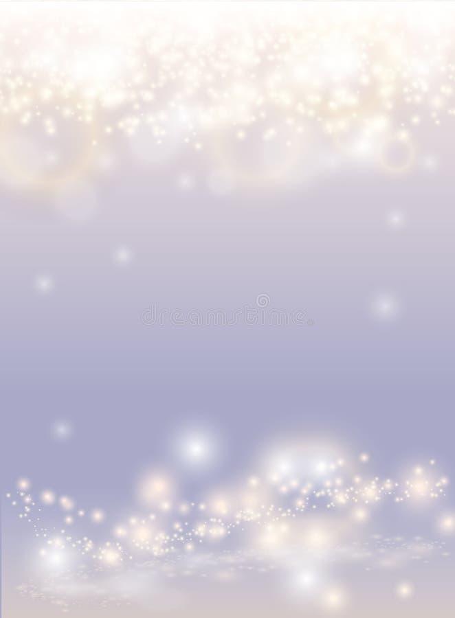 Abstrakt mousserande ljus magisk bakgrund vektor illustrationer