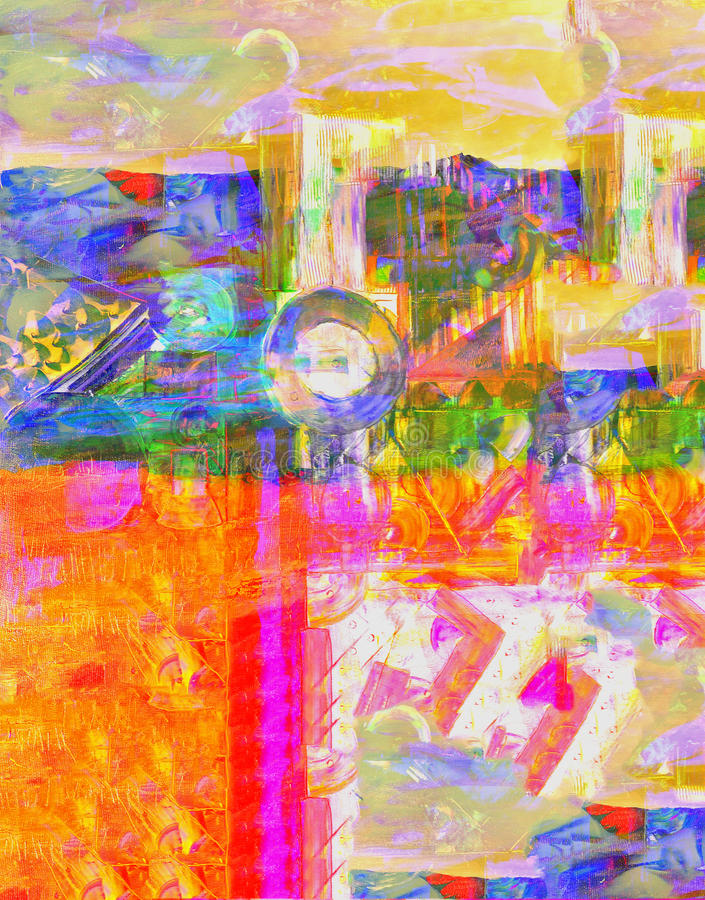 Abstrakt Na Camvas zdjęcia royalty free