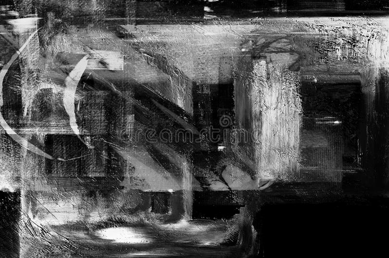 Abstrakt na kanwie fotografia royalty free