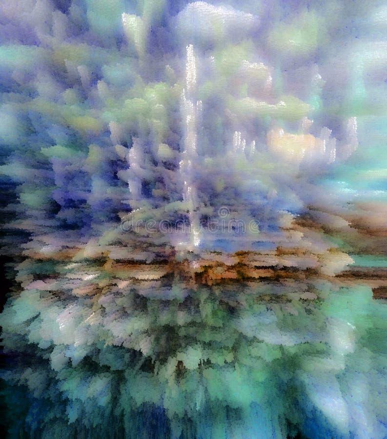Abstrakt obraz obrazek struktura _ jedyność royalty ilustracja