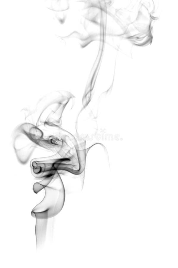 abstrakt odizolowywający dym royalty ilustracja