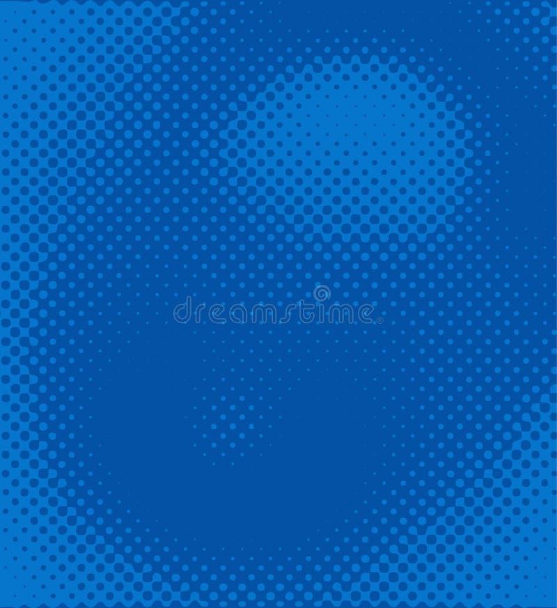 Abstrakt okrąża tło, halftone kropka wzór, organicznie formularzowy tło royalty ilustracja