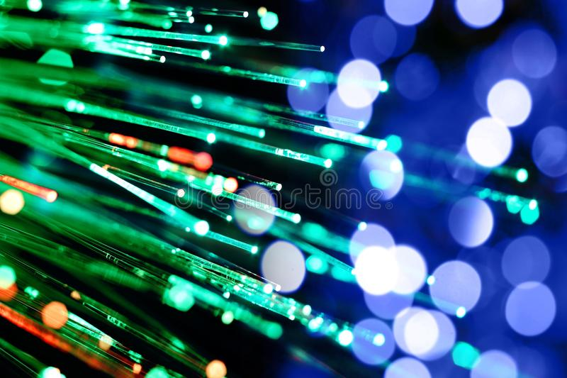 abstrakt optik för bakgrundskommunikationsfiber royaltyfri foto