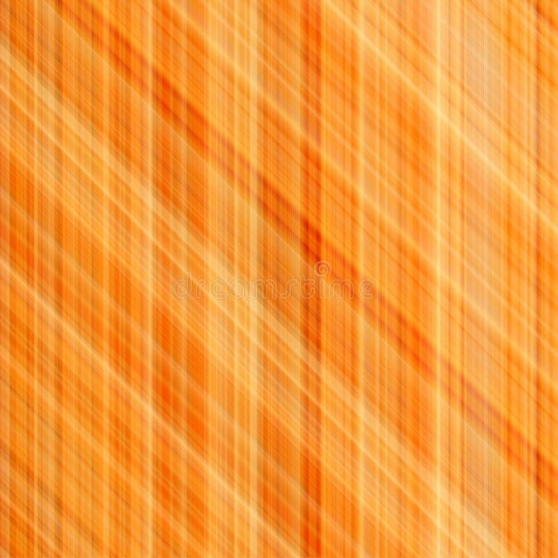 abstrakt orange bafärglinjer royaltyfri illustrationer