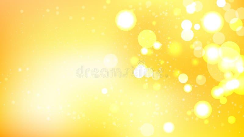 Abstrakt orange och vitt diagram för vektor för suddighetsljusbakgrund vektor illustrationer