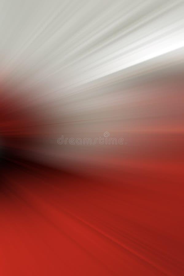 Abstrakt oskarp bakgrund i röda signaler stock illustrationer