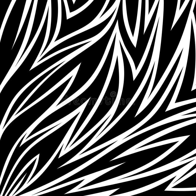 Abstrakt päls stock illustrationer