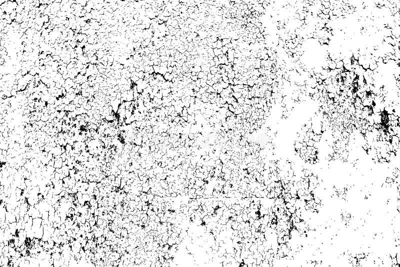 Abstrakt pękał tekstura szablon - łatwego tworzyć abstrakcjonistycznych młyny royalty ilustracja