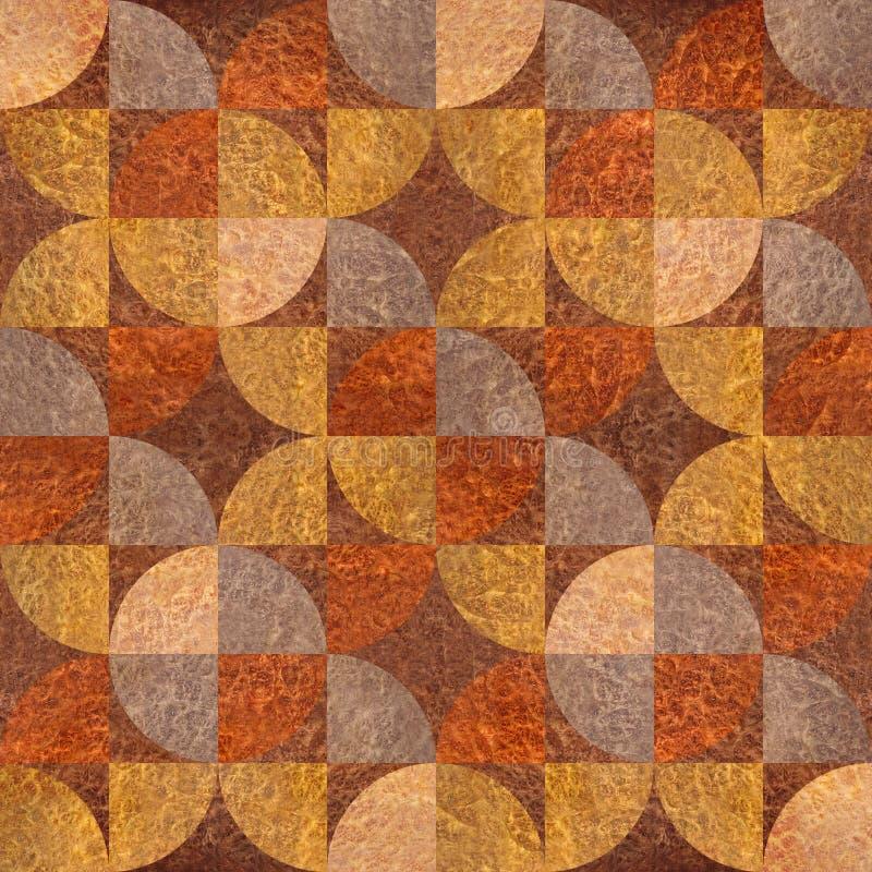 Abstrakt panelmodell - olika färger - Carpathian alm royaltyfri illustrationer
