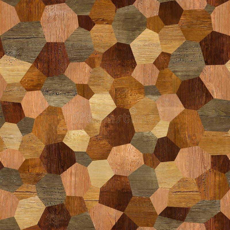 Abstrakt panelmodell - sömlös bakgrund - wood textur stock illustrationer