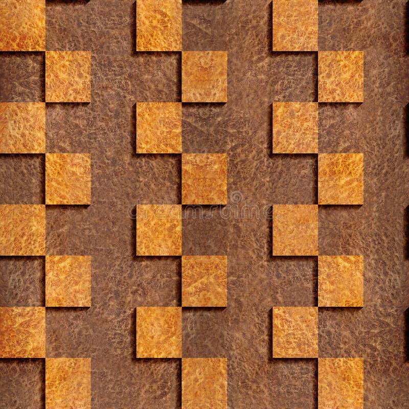 Abstrakt panelmodell - wood textur för Carpathian alm vektor illustrationer